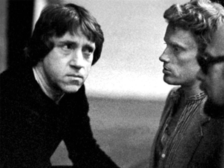 Владимир Высойкий и Даниэль Ольбрыхский